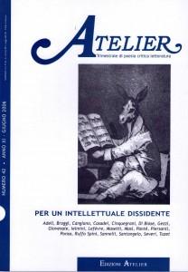 Copertina della rivista Atelier, n. 42
