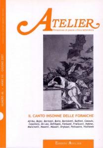 Copertina della rivista Atelier, n. 46