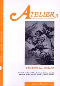 Copertina della rivista Atelier, n. 48