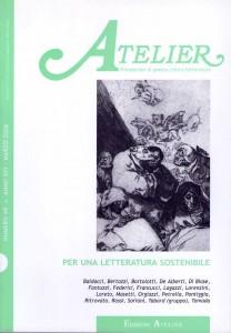 Copertina della rivista Atelier, n. 49