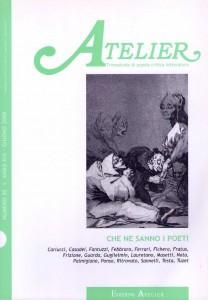 Copertina della rivista Atelier, n. 50