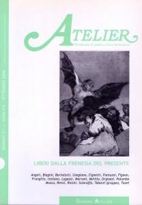 Copertina della rivista Atelier, n. 51
