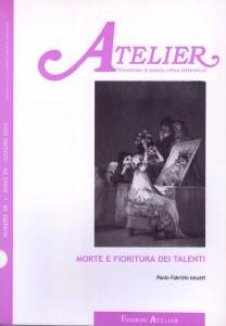 Copertina della rivista Atelier, n. 58