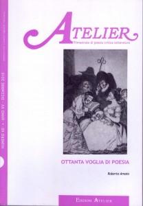 Copertina della rivista Atelier, n. 60