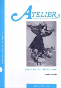 Copertina della rivista Atelier, n. 64