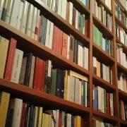 Scorcio della mia biblioteca