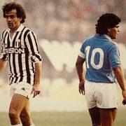 Platini e Maradona, storici numeri 10