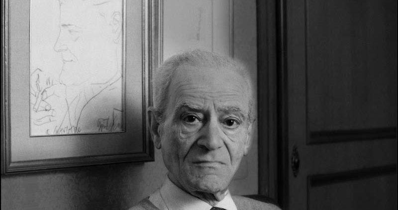 Giorgio Caproni, fotografia di Dino Ignani