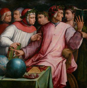 Sei poeti toscani illustri, di Giorgio Vasari, 1544
