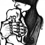 Ricordi, disegno di Teresa Sarno, cm 21x29