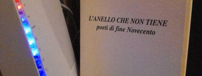 Marco Merlin, L'anello che non tiene. Poeti di fine Novecento (2003)