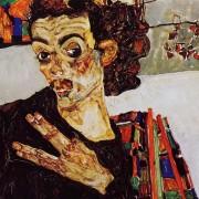 Schiele, Autoritratto, 1911