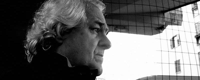 Milo De Angelis (foto di Viviana Nicodemo)
