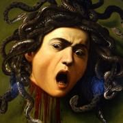 Scudo con testa di Medusa, di Caravaggio