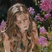 Senza titolo, pittura di Sandra Ongari