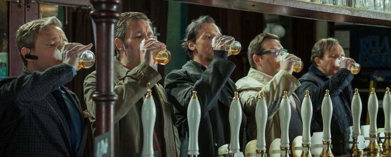 Una bevuta di birra in compagnia