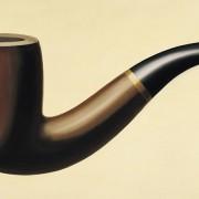 Ceci n'est pas une pipe (questa non è una pipa), di René Magritte