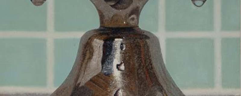 Rubinetto (dettaglio), di Simone Giaiacopi