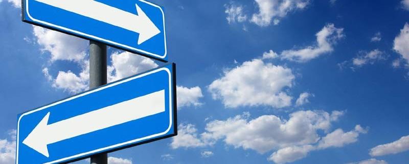 Cartelli stradali: quale direzione?