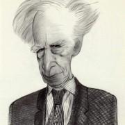 Mario Luzi, di Tullio Pericoli, 1995, pencil on paper, cm 29,5x21