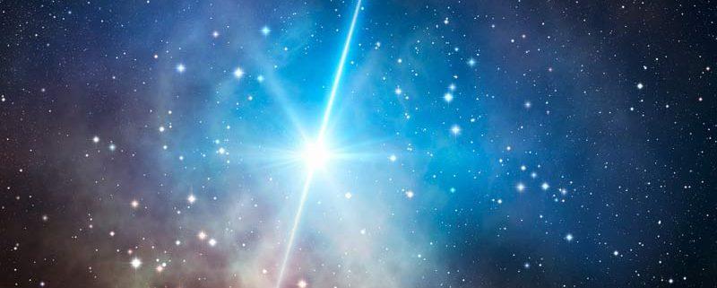 Impulso di una stella morta (raggi gamma)