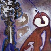 Nel seme, di Annamaria Papalini, 70x80 cm