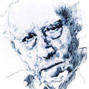 Ritratto di Mario Luzi, di Nino Lupica