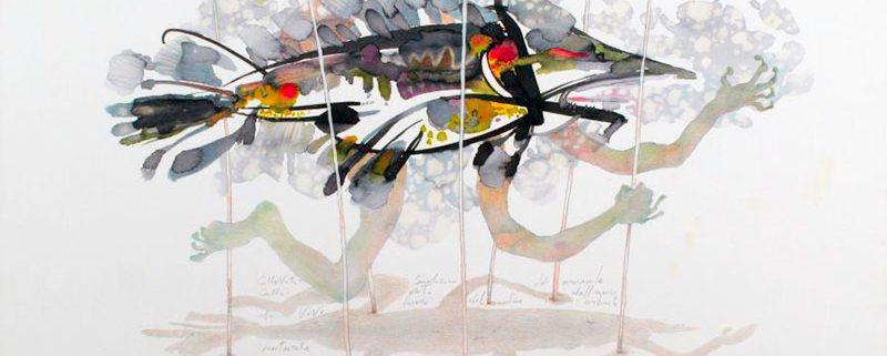 Cattività, acquerello (47x33 cm) di Alessandro Vascotto