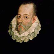 Miguel de Cervantes Saavedra, attribuito a Juan de Jauregui y Aguilar (1583 - 1641 circa)