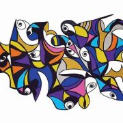 Malizia, di Maria Petrone, cm 100x70