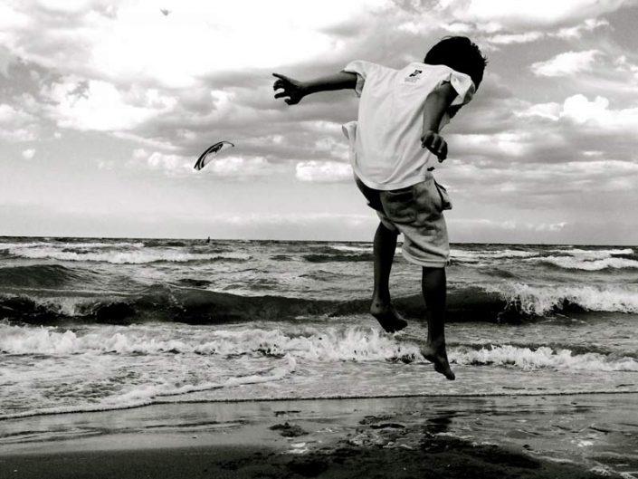 Sotto la linea dell'orizzonte, di Consuelo Canducci, fotografia digitale, 70x50cm