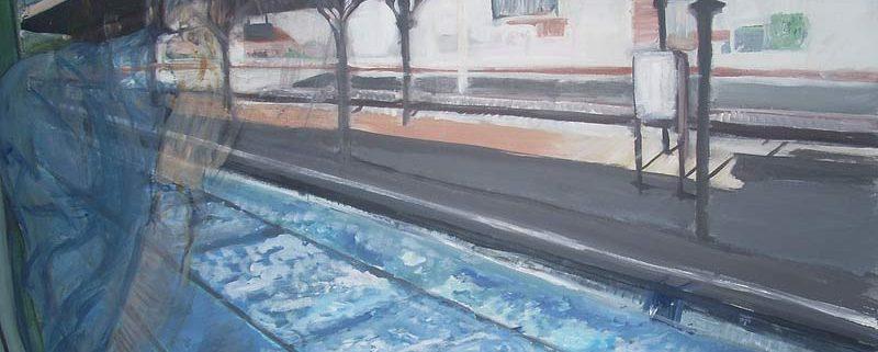 Riflessi, di Giulietta Cavallotti, 2010, tecnica mista su tavola, cm 70x50