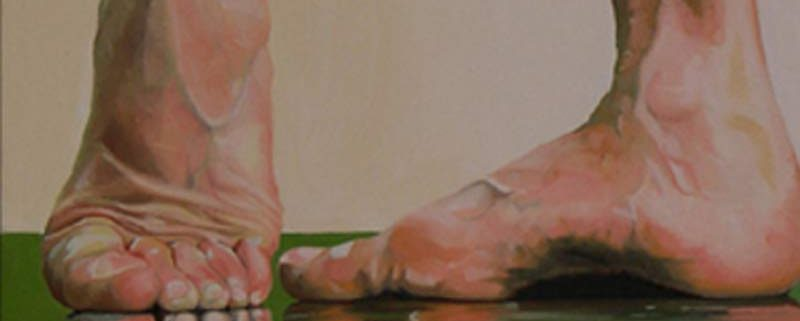 Frank Balbi, di Sara Scaramelli, 2006 (olio su tela, cm 30x30)