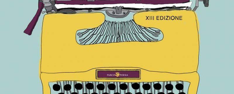 L'immagine-manifesto della XIII edizione del Festival ParcoPoesia, 'Lavoro straordinario'