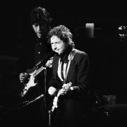 Bob Dylan at New York's Madison Square Garden Jan. 30, 1974