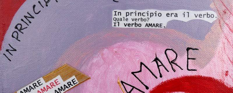 Il principio, di Simona Vanetti, cm 20x20