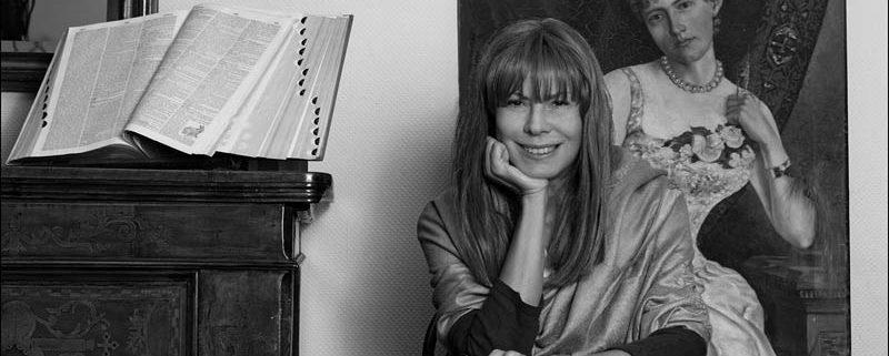 Antonella Anedda, foto di Dino Ignani