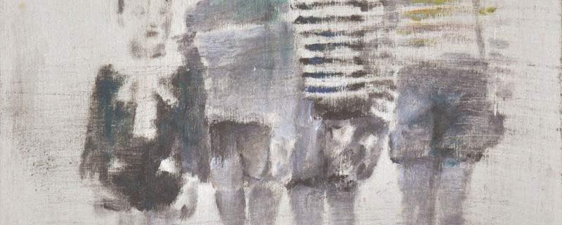 Remove, di Antonia Bufi, olio su legno, cm 20x20