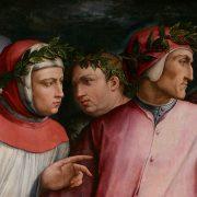 """Giorgio Vasari, """"Ritratto di sei poeti toscani"""", 1544, dettaglio"""