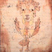Angelus Novus, Paul Klee, 1920