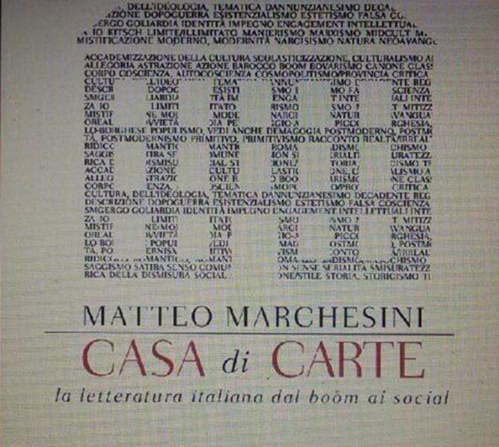 Marchesini, Casa di carte, non edito da Bompiani