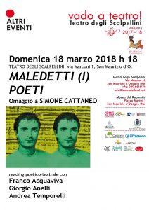 Simone Cattaneo, evento 18 marzo 2018
