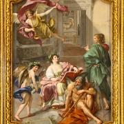 Il Trionfo della Storia sul Tempo, di Anton Raphael Mengs (1772)