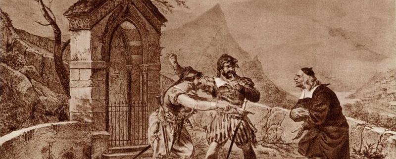 Gallina, Don Abbondio e i Bravi