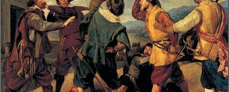 La rissa, di Diego Velázquez