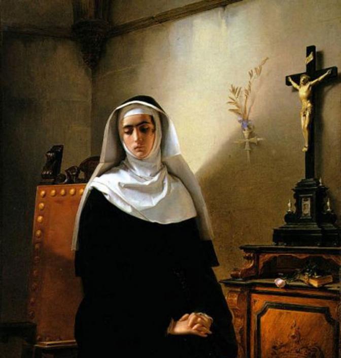 Giuseppe Molteni, La signora di Monza, 1847