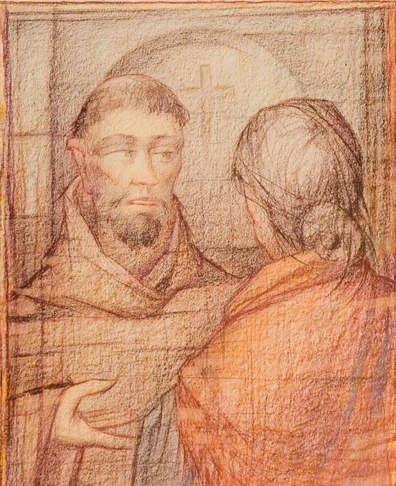 Agnese e fra Galdino