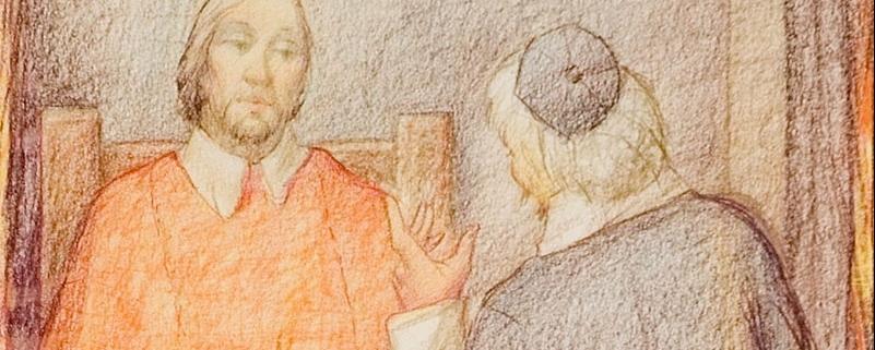 Il cardinale a casa di don Abbondio, di Giorgio Scarpati