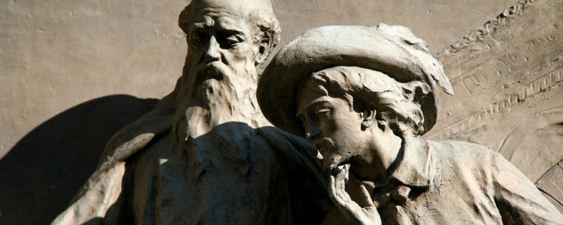 Renzo e padre Cristoforo