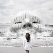 The White Sky XI, di Stefano Bonazzi,